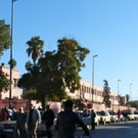 "Taxis, Marrakech • <a style=""font-size:0.8em;"" href=""http://www.flickr.com/photos/92957341@N07/8457674631/"" target=""_blank"">View on Flickr</a>"