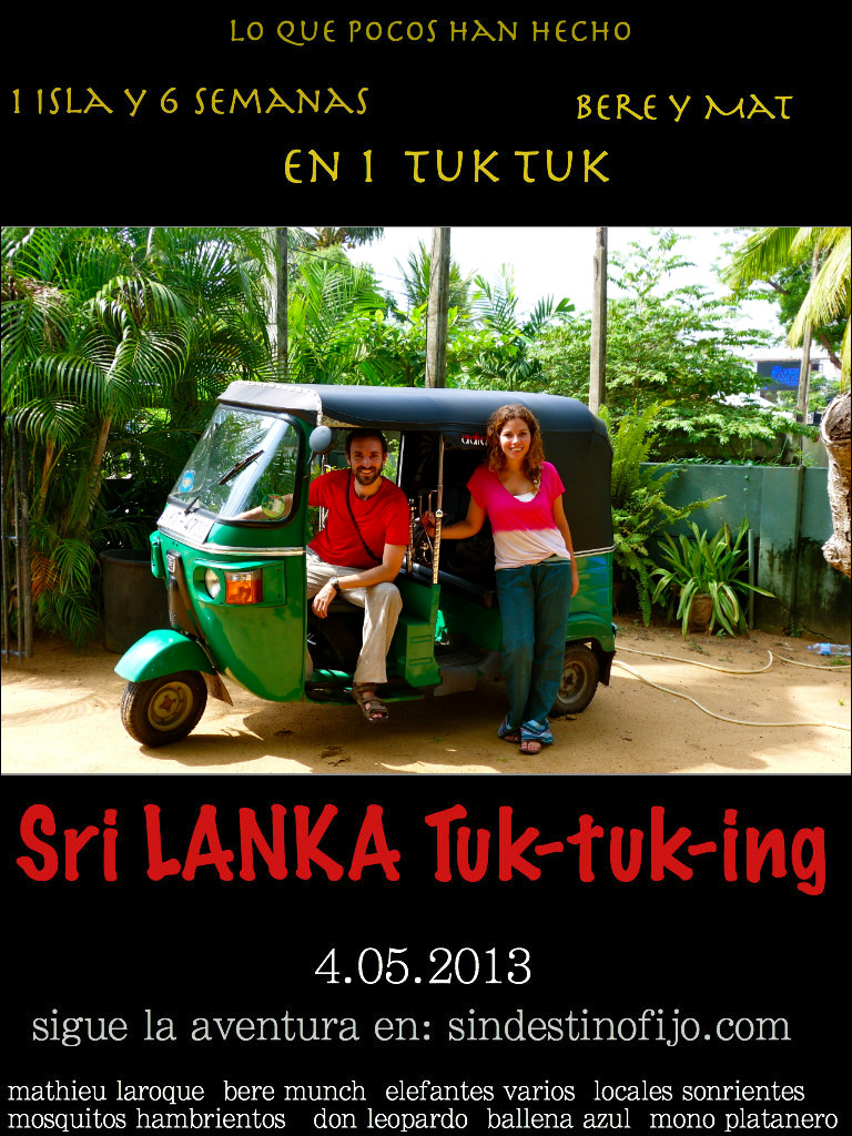 sri lanka tuk tuking