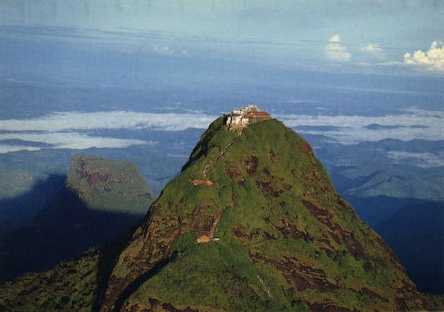Adam's Peak en Sri Lanka