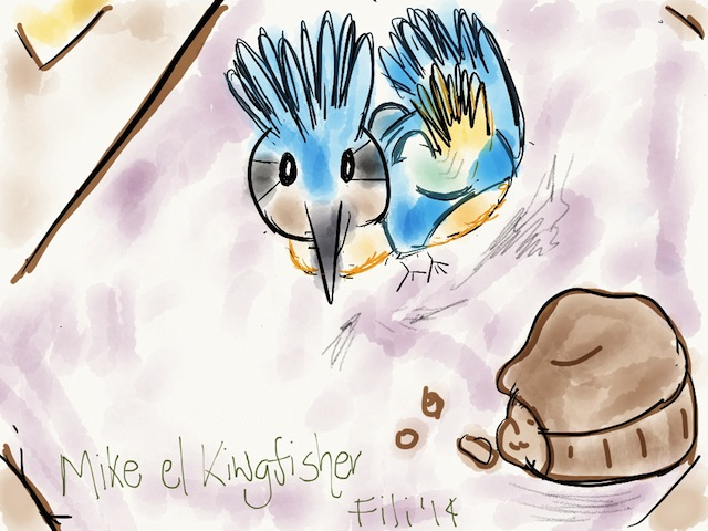 mike el kingfisher
